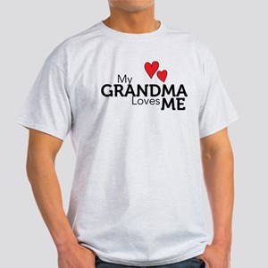 My Grandma Loves Me Light T-Shirt