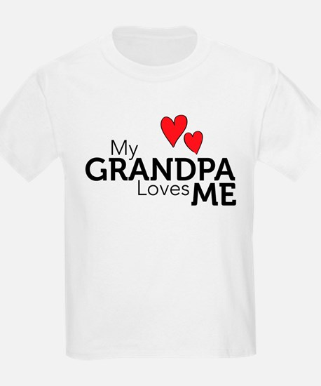My Grandpa Loves Me T-Shirt