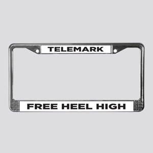Free Heel High License Plate Frame