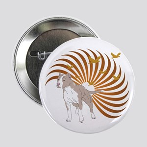 """American Pit Bull Terrier 2.25"""" Button (10 pack)"""