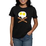 Breakfast Pirate Women's Dark T-Shirt