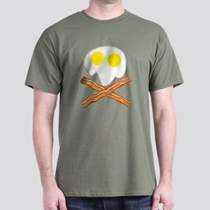 Breakfast Pirate Dark T-Shirt