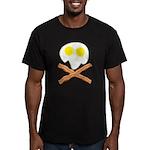 Breakfast Pirate Men's Fitted T-Shirt (dark)