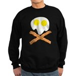 Breakfast Pirate Sweatshirt (dark)