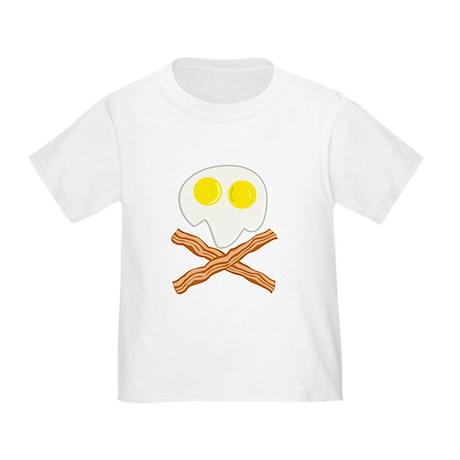 Breakfast Pirate Toddler T-Shirt