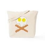 Breakfast Pirate Tote Bag
