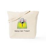 Babys Got Talent Tote Bag