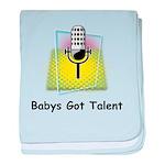Babys Got Talent baby blanket