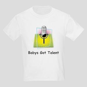 Babys Got Talent Kids Light T-Shirt