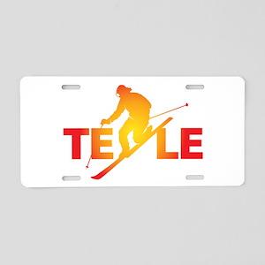 TELE Vivid Aluminum License Plate