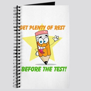 Rest Before the Test Journal