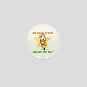 Rest Before the Test Mini Button