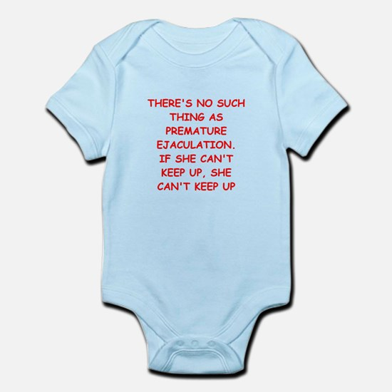 funny male chauvinist pig Infant Bodysuit