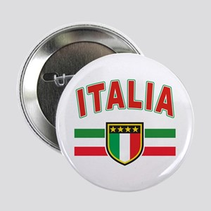 "italian pride 2.25"" Button"
