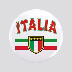 "italian pride 3.5"" Button"