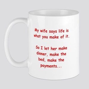 funny male chauvinist pig Mug