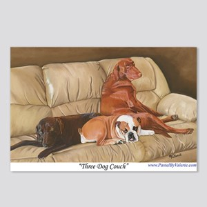 Three Dog Couch Postcards (Package of 8)