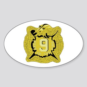DUI - 2nd Bn - 9th Infantry Regt Sticker (Oval)