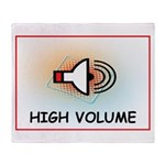 High Volume Throw Blanket