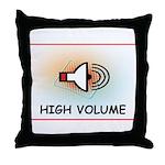 High Volume Throw Pillow
