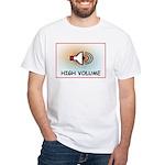 High Volume White T-Shirt