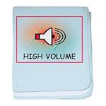 High Volume baby blanket