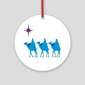 3 Wisemen Ornament (Round)