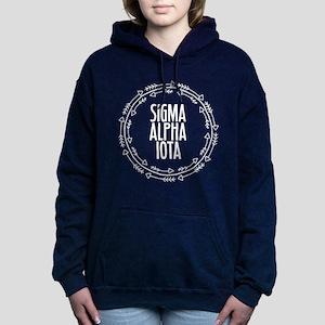 Sigma Alpha Iota Arrows Women's Hooded Sweatshirt