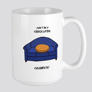 Couch Latke Large Mug