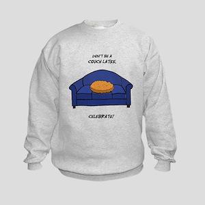Couch Latke Kids Sweatshirt