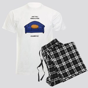 Couch Latke Men's Light Pajamas