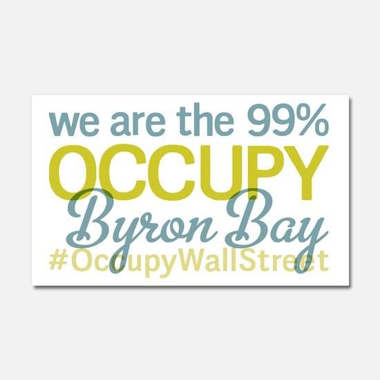 Occupy Byron Bay Car Magnet 20 x 12