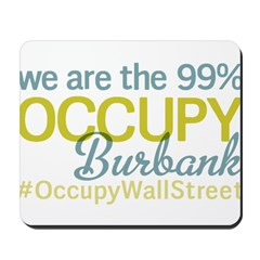Occupy Burbank Mousepad
