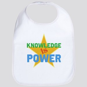 Knowledge is Power Bib