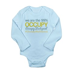 Occupy Budapest Long Sleeve Infant Bodysuit