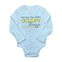 Occupy Brugge Long Sleeve Infant Bodysuit