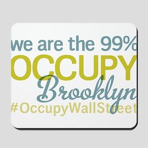 Occupy Brooklyn Mousepad