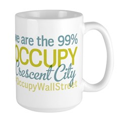 Occupy Crescent City Large Mug