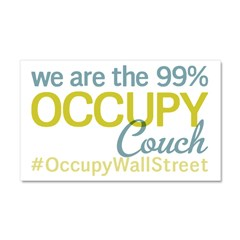 Occupy Couch Car Magnet 20 x 12