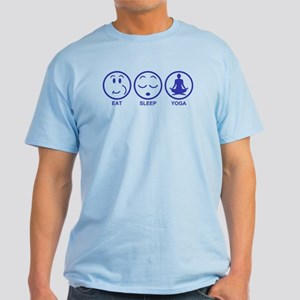 Eat Sleep Yoga Light T-Shirt