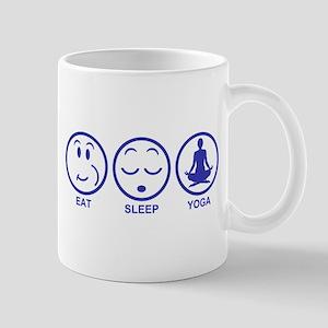 Eat Sleep Yoga Mug