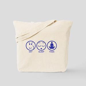 Eat Sleep Yoga Tote Bag