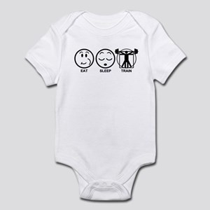 Eat Sleep Train Infant Bodysuit