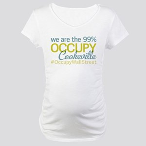 Occupy Cookeville Maternity T-Shirt