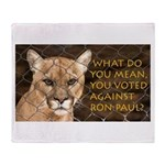 You Voted Against Ron Paul? Throw Blanket