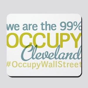 Occupy Cleveland Mousepad