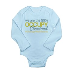 Occupy Cleveland Long Sleeve Infant Bodysuit