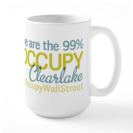 Occupy Clearlake Large Mug