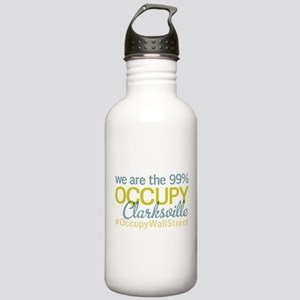 Occupy Clarksville Stainless Water Bottle 1.0L