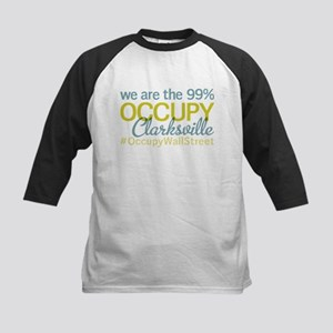 Occupy Clarksville Kids Baseball Jersey